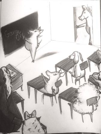 SeptGrayscale_ClassroomChristys